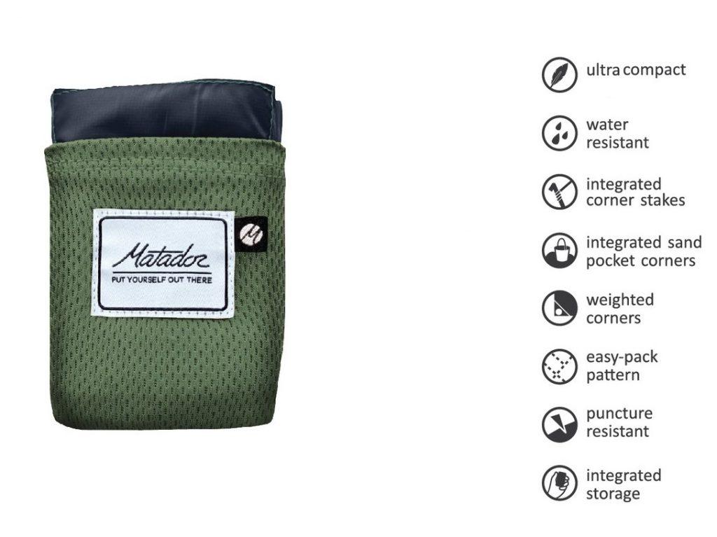 Settle Outdoor - Matador Pocket Blanket - Features